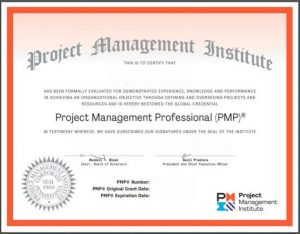 PMP certification USA